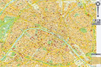 A good tourist map of paris - Paris Photo Tours